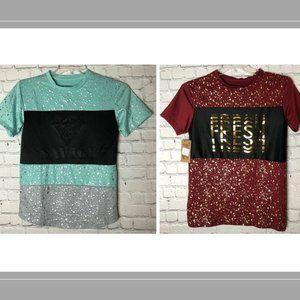 Bundle 2 Brooklyn Laundry T-Shirt Sz.14 - 16